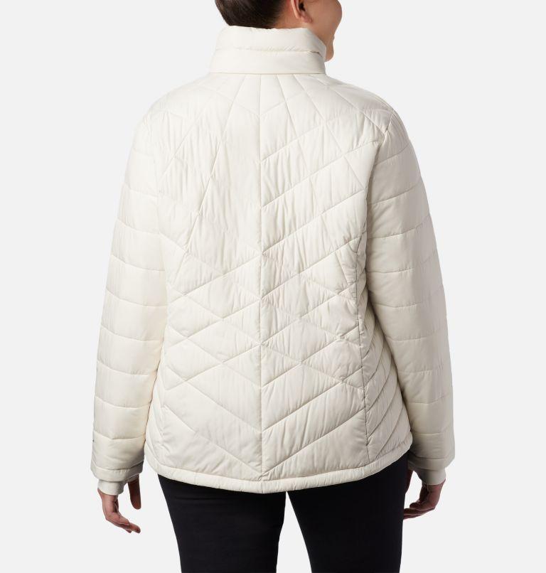 Heavenly™ Jacket | 192 | 3X Women's Heavenly™ Jacket - Plus Size, Chalk, back