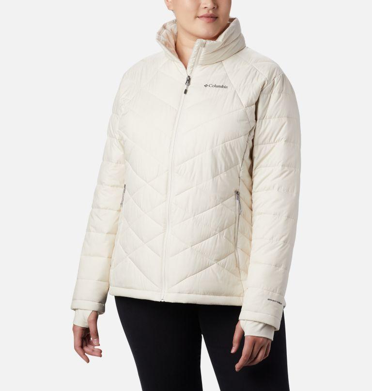 Heavenly™ Jacket | 192 | 3X Women's Heavenly™ Jacket - Plus Size, Chalk, front
