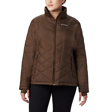 Manteau Heavenly™ pour femme - grandes tailles Heavenly™ Jacket | 618 | 3X, Olive Green, front