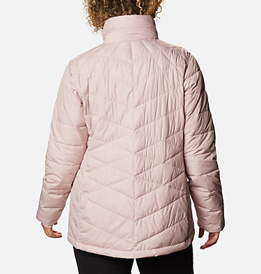 Manteau Heavenly™ pour femme - grandes tailles Heavenly™ Jacket | 618 | 3X, Mineral Pink, back