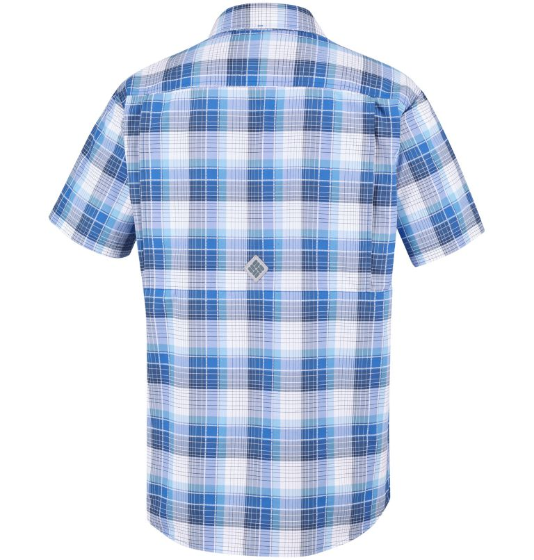 Men's Cascade Explorer™ Plaid Short Sleeve Shirt Men's Cascade Explorer™ Plaid Short Sleeve Shirt, back