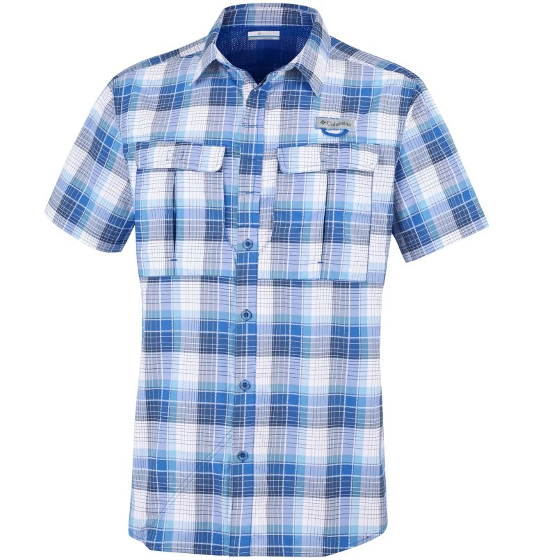 Men's Cascade Explorer™ Plaid Short Sleeve Shirt Men's Cascade Explorer™ Plaid Short Sleeve Shirt, front