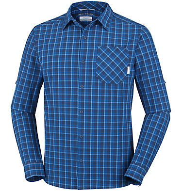 Men's Triple Canyon™ Long Sleeve Plaid Shirt , front