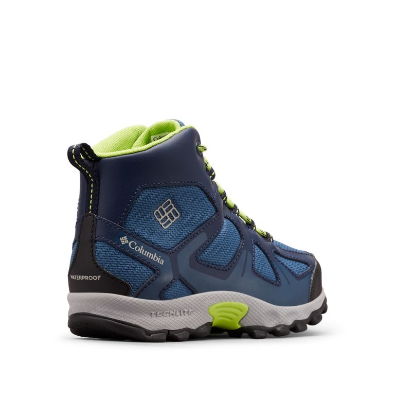 YOUTH PEAKFREAK™ XCRSN MID WP | 433 | 4 Botte Peakfreak™ XCRSN Mid WP Junior, Whale, Fission, 3/4 back