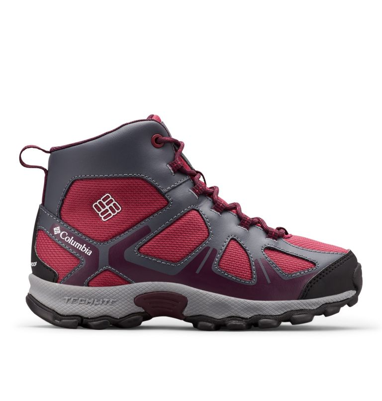 YOUTH PEAKFREAK™ XCRSN MID WP | 550 | 2 Botte Peakfreak™ XCRSN Mid WP Junior, Wine Berry, Black Cherry, front
