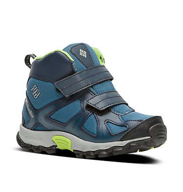 Botte Peakfreak™ XCRSN Mid WP Enfant CHILDRENS PEAKFREAK™ XCRSN MID | 550 | 10, Whale, Fission, 3/4 front