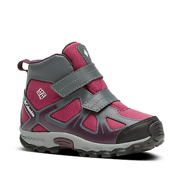 Kids' Peakfreak™ XCRSN Mid WP Boots , 3/4 front