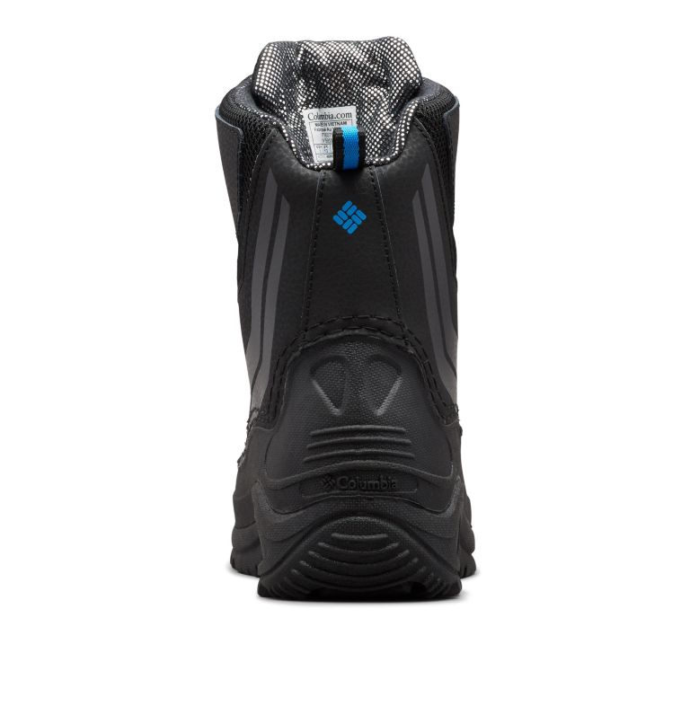 YOUTH BUGABOOT™ PLUS IV OMNI-HEAT™ | 010 | 7 Big Kids' Bugaboot™ Plus IV Omni-Heat™ Boot, Black, Hyper Blue, back