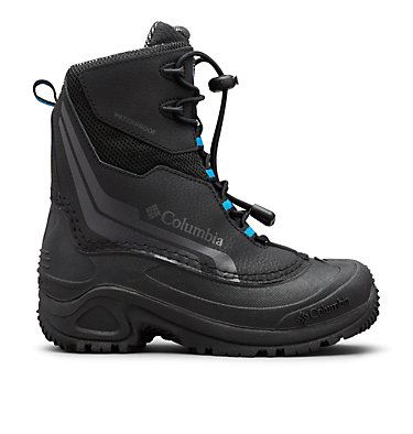 Big Kids' Bugaboot™ Plus IV Omni-Heat™ Boot YOUTH BUGABOOT™ PLUS IV OMNI-HEAT™ | 036 | 1, Black, Hyper Blue, front