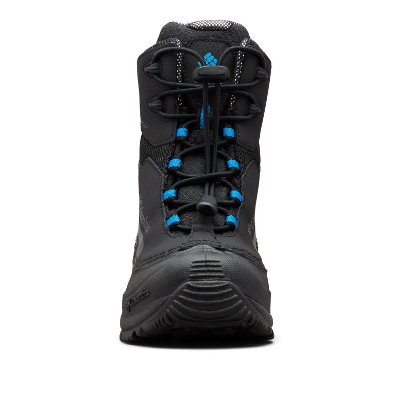 YOUTH BUGABOOT™ PLUS IV OMNI-HEAT™ | 010 | 7 Big Kids' Bugaboot™ Plus IV Omni-Heat™ Boot, Black, Hyper Blue, toe