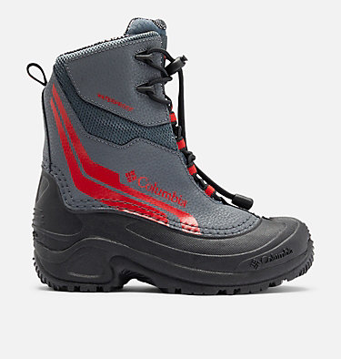 Big Kids' Bugaboot™ Plus IV Omni-Heat™ Boot YOUTH BUGABOOT™ PLUS IV OMNI-HEAT™ | 036 | 1, Graphite, Bright Red, front