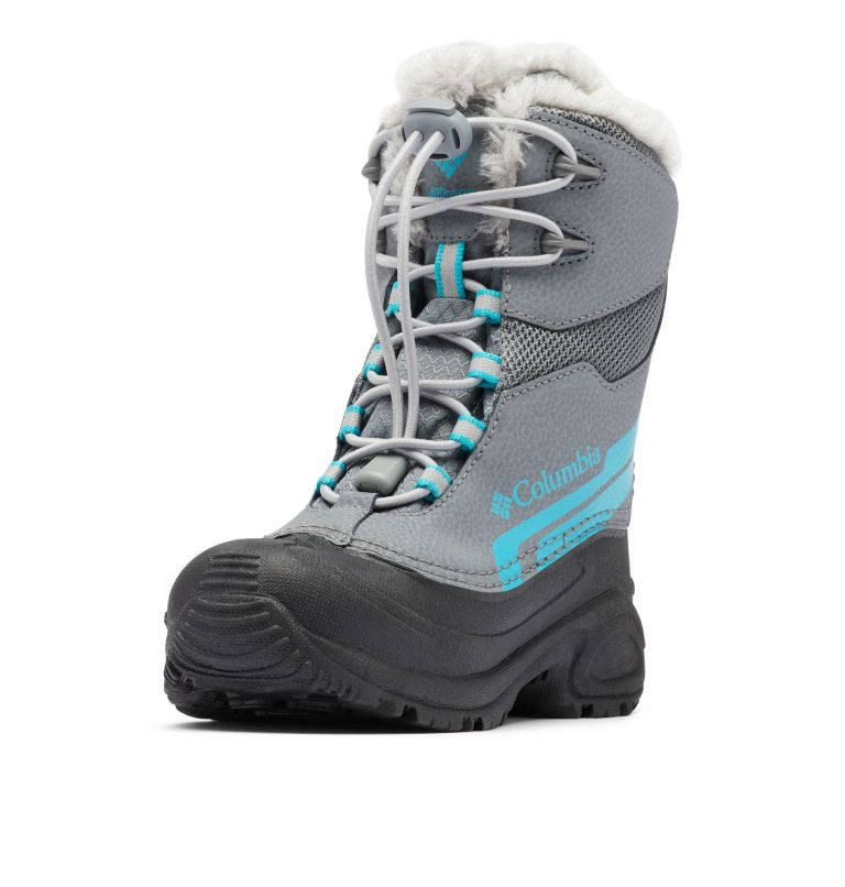 YOUTH BUGABOOT™ PLUS IV OMNI-HEAT™ | 033 | 1 Big Kids' Bugaboot™ Plus IV Omni-Heat™ Faux-Fur Trim Boot, Ti Grey Steel, Pacific Rim