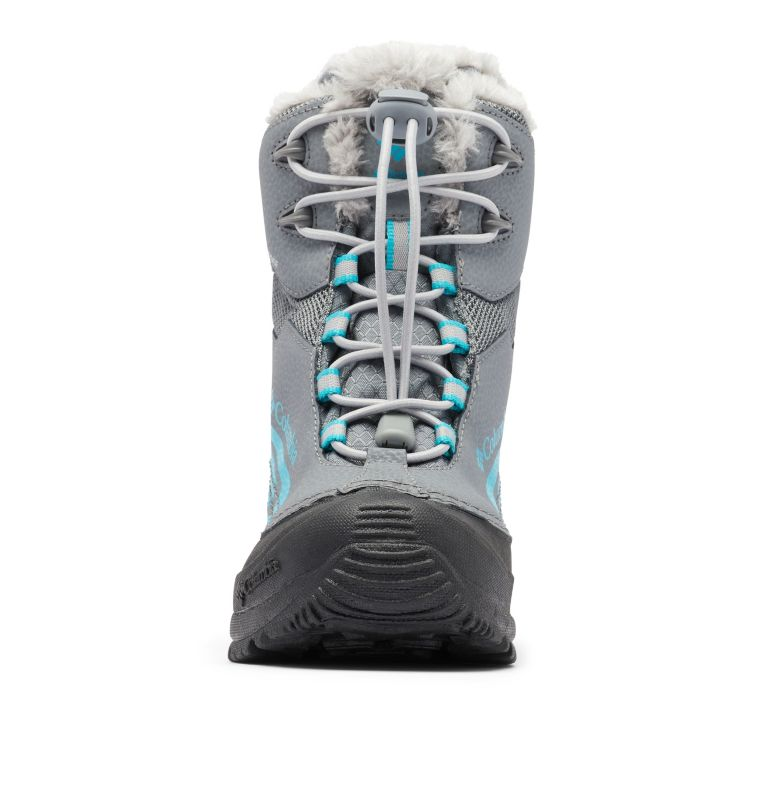 YOUTH BUGABOOT™ PLUS IV OMNI-HEAT™ | 033 | 1 Big Kids' Bugaboot™ Plus IV Omni-Heat™ Faux-Fur Trim Boot, Ti Grey Steel, Pacific Rim, toe