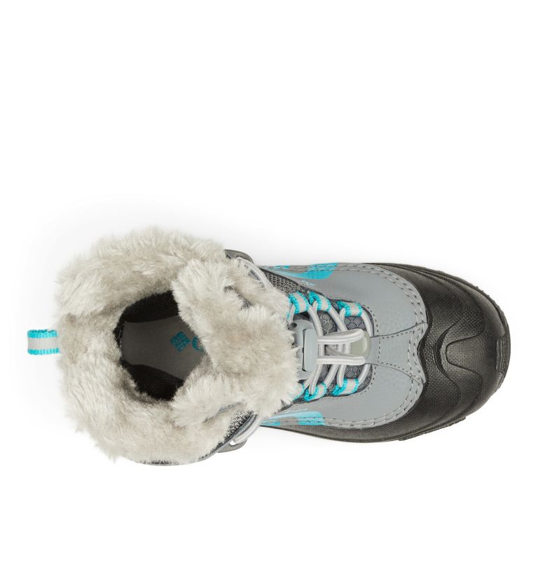 YOUTH BUGABOOT™ PLUS IV OMNI-HEAT™ | 033 | 1 Big Kids' Bugaboot™ Plus IV Omni-Heat™ Faux-Fur Trim Boot, Ti Grey Steel, Pacific Rim, top