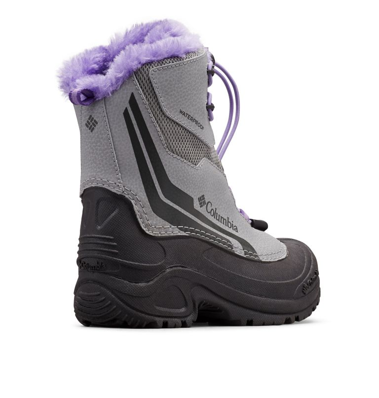 Big Kids' Bugaboot™ Plus IV Omni-Heat™ Faux-Fur Trim Boot Big Kids' Bugaboot™ Plus IV Omni-Heat™ Faux-Fur Trim Boot, 3/4 back