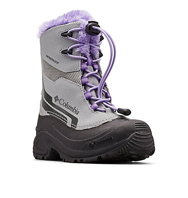 Big Kids' Bugaboot™ Plus IV Omni-Heat™ Boot YOUTH BUGABOOT™ PLUS IV OMNI-HEAT™ | 036 | 1, Monument, Emperor, 3/4 front