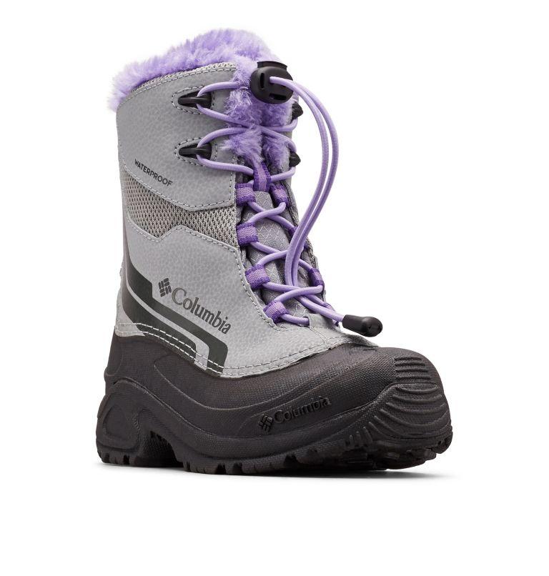 Big Kids' Bugaboot™ Plus IV Omni-Heat™ Faux-Fur Trim Boot Big Kids' Bugaboot™ Plus IV Omni-Heat™ Faux-Fur Trim Boot, 3/4 front