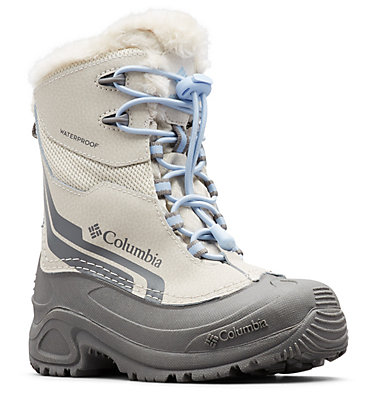 Big Kids' Bugaboot™ Plus IV Omni-Heat™ Boot YOUTH BUGABOOT™ PLUS IV OMNI-HEAT™ | 036 | 1, Fawn, Faded Sky, 3/4 front