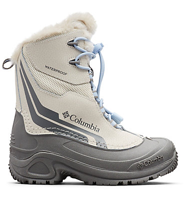 Big Kids' Bugaboot™ Plus IV Omni-Heat™ Boot YOUTH BUGABOOT™ PLUS IV OMNI-HEAT™ | 036 | 1, Fawn, Faded Sky, front
