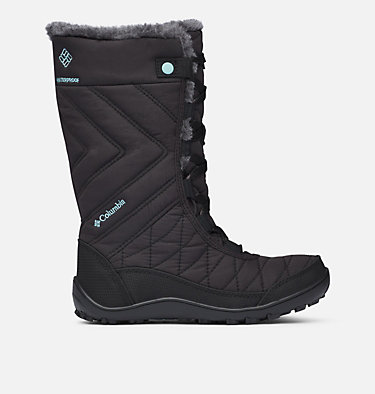 Big Kids' Minx™ Mid III Waterproof Omni-Heat™ Boot YOUTH MINX™ MID III WP OMNI-HE | 010 | 1, Black, Iceberg, front