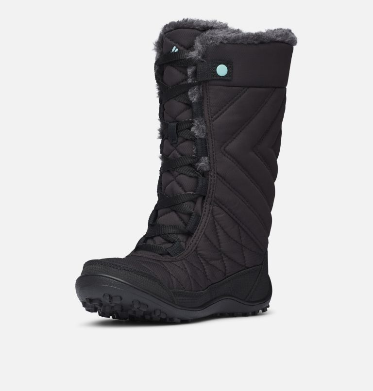 YOUTH MINX™ MID III WP OMNI-HE | 010 | 7 Botte De Neige Minx™ Mid III WP Omni-Heat™ Junior, Black, Iceberg
