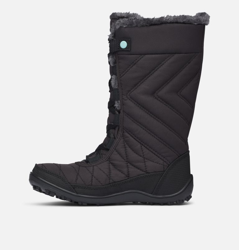 YOUTH MINX™ MID III WP OMNI-HE | 010 | 7 Botte De Neige Minx™ Mid III WP Omni-Heat™ Junior, Black, Iceberg, medial