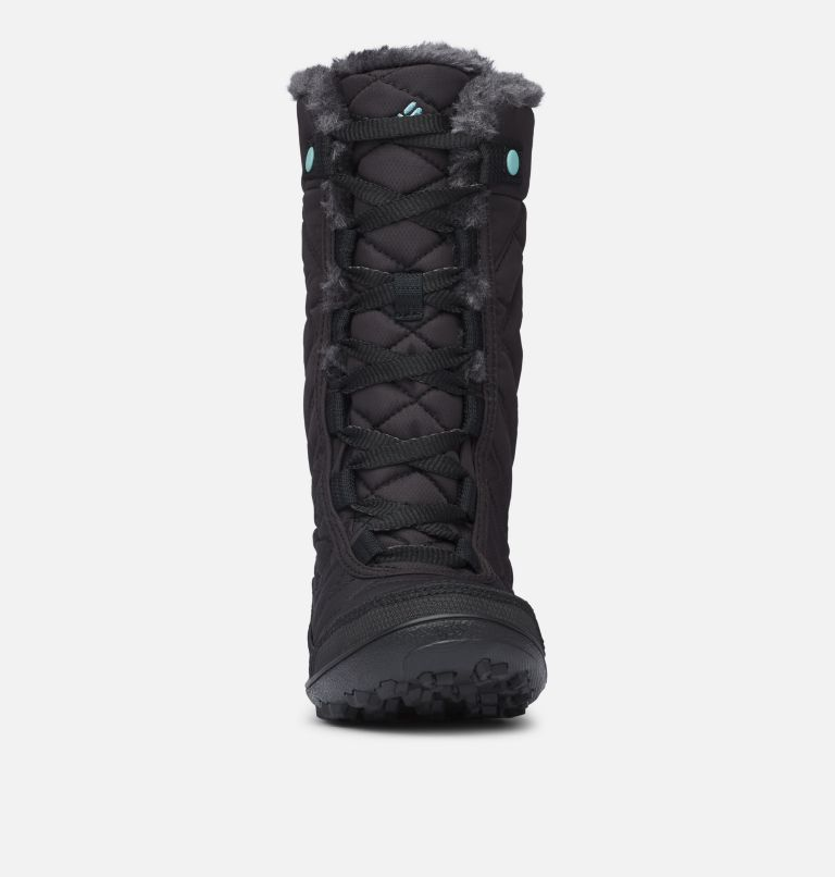 YOUTH MINX™ MID III WP OMNI-HE | 010 | 7 Botte De Neige Minx™ Mid III WP Omni-Heat™ Junior, Black, Iceberg, toe