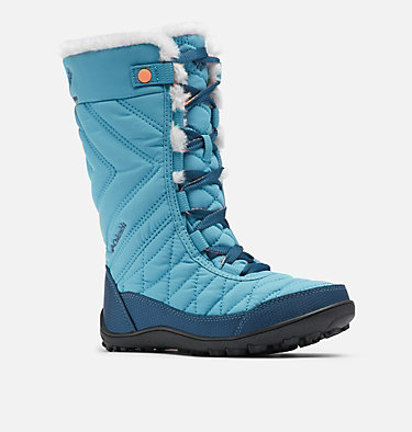 Big Kids' Minx™ Mid III Waterproof Omni-Heat™ Boot YOUTH MINX™ MID III WP OMNI-HE | 010 | 1, Shasta, Lychee, 3/4 front