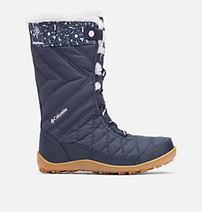 Big Kids' Minx™ Mid III Print Waterproof Omni-Heat™ Boot