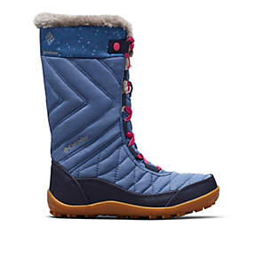 Big Kids' Minx™ Mid III Print Waterproof Omni-Heat™ Boot