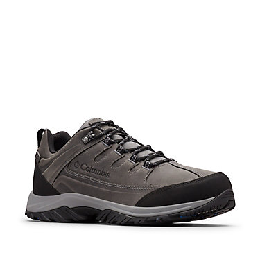 Men's Terrebonne™ II Outdry™ Trail Shoes TERREBONNE™ II OUTDRY™ | 231 | 10, Ti Grey Steel, Blue Jay, 3/4 front
