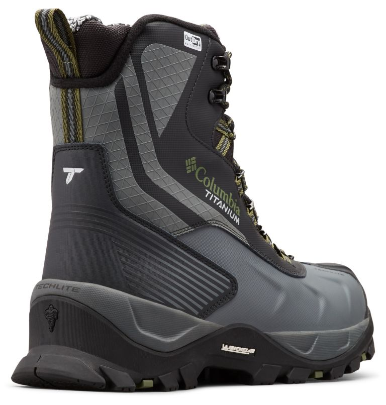 Men's Powderhouse™ Titanium Omni-Heat™ 3D OutDry™ Boot Men's Powderhouse™ Titanium Omni-Heat™ 3D OutDry™ Boot, 3/4 back