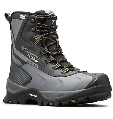Men's Powderhouse™ Titanium Omni-Heat™ 3D OutDry™ Boot POWDERHOUSE TITANIUM OMNI-HEAT | 010 | 10, Black, Mosstone, 3/4 front