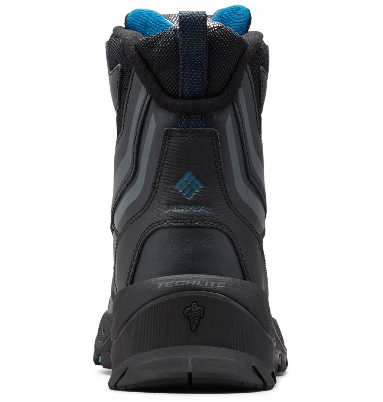 BUGABOOT™ PLUS IV OMNI-HEAT™ | 010 | 10 Men's Bugaboot™ Plus IV Omni-Heat™ Boot, Black, Phoenix Blue, back
