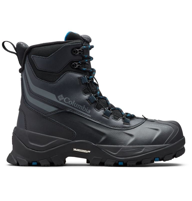 BUGABOOT™ PLUS IV OMNI-HEAT™ | 010 | 7 Men's Bugaboot™ Plus IV Omni-Heat™ Snow Boots, Black, Phoenix Blue, front