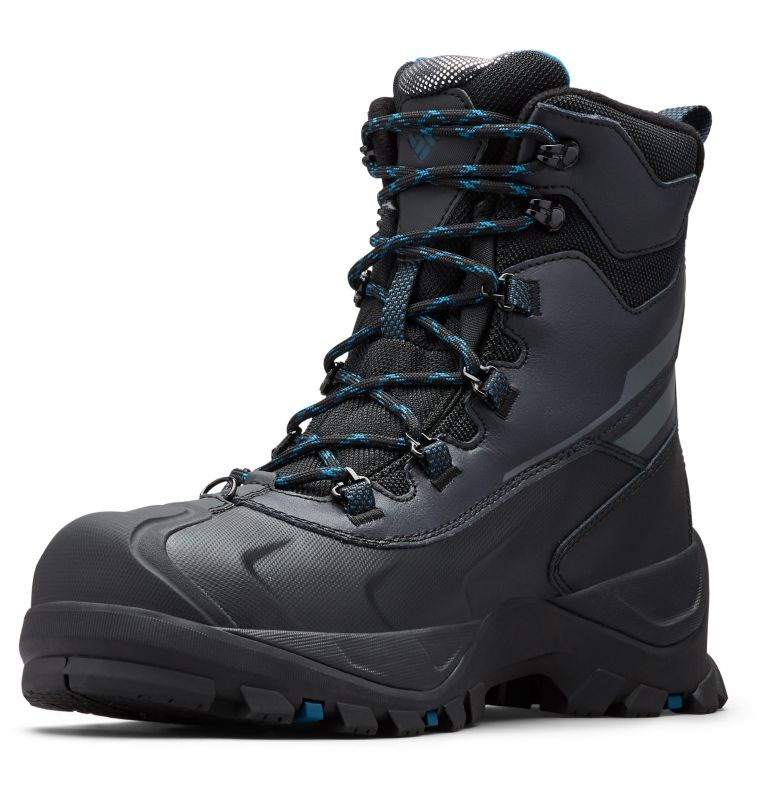 BUGABOOT™ PLUS IV OMNI-HEAT™ | 010 | 7 Men's Bugaboot™ Plus IV Omni-Heat™ Snow Boots, Black, Phoenix Blue
