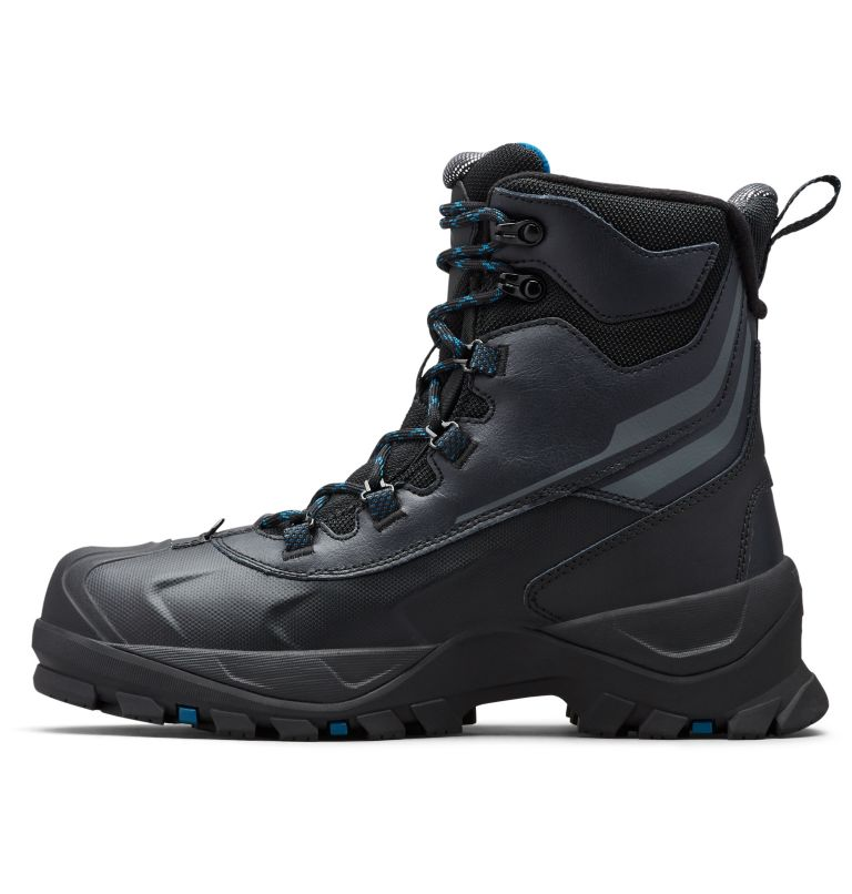 BUGABOOT™ PLUS IV OMNI-HEAT™ | 010 | 7 Men's Bugaboot™ Plus IV Omni-Heat™ Snow Boots, Black, Phoenix Blue, medial
