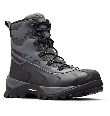 Men's Bugaboot™ Plus IV Omni-Heat™ Snow Boots BUGABOOT™ PLUS IV OMNI-HEAT™ | 010 | 7, Graphite, Black, 3/4 front
