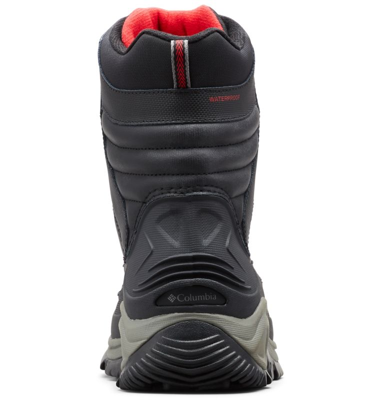 BUGABOOT™ III WIDE | 010 | 12 Men's Bugaboot™ III Boot - Wide, Black, Bright Red, back