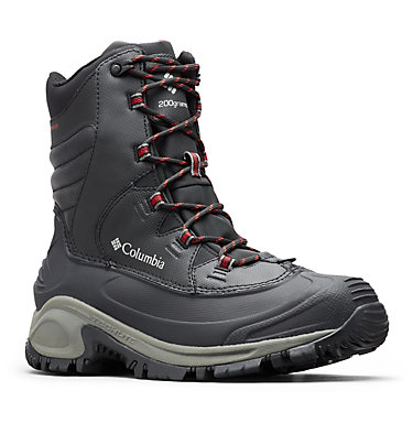 Men's Bugaboot™ III Boot - Wide BUGABOOT™ III WIDE | 231 | 10, Black, Bright Red, 3/4 front
