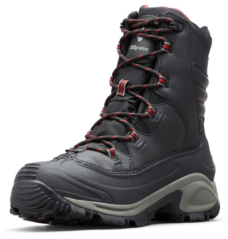 BUGABOOT™ III WIDE | 010 | 10.5 Men's Bugaboot™ III Boot - Wide, Black, Bright Red