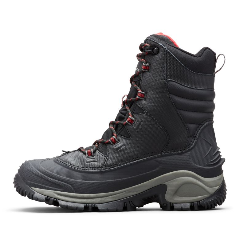 BUGABOOT™ III WIDE | 010 | 12 Men's Bugaboot™ III Boot - Wide, Black, Bright Red, medial