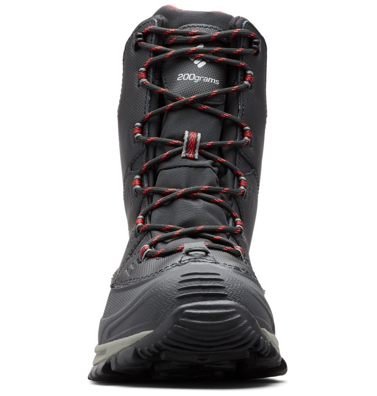 BUGABOOT™ III WIDE | 010 | 10.5 Men's Bugaboot™ III Boot - Wide, Black, Bright Red, toe