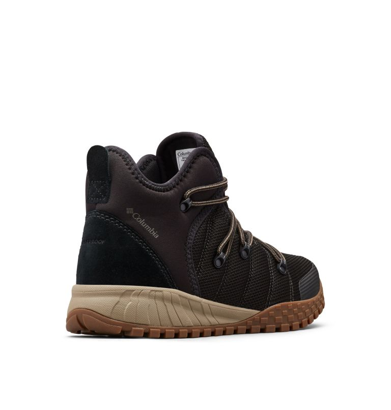 FAIRBANKS™ 503 | 010 | 14 Men's Fairbanks™ 503 Mid Shoe, Black, Mud, 3/4 back