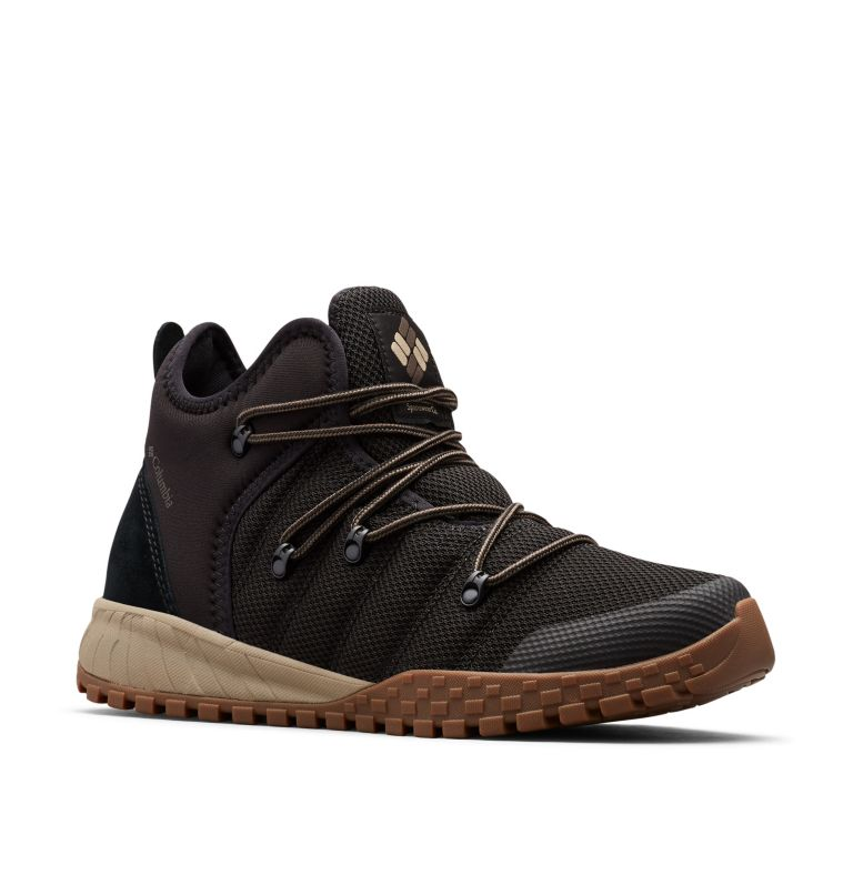 FAIRBANKS™ 503 | 010 | 14 Men's Fairbanks™ 503 Mid Shoe, Black, Mud, 3/4 front