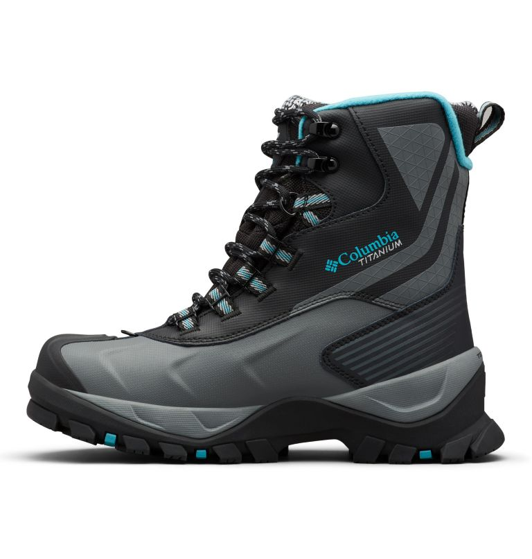 Women's Powderhouse Titanium Omni-Heat™ 3D OutDry™ Boot Women's Powderhouse Titanium Omni-Heat™ 3D OutDry™ Boot, medial