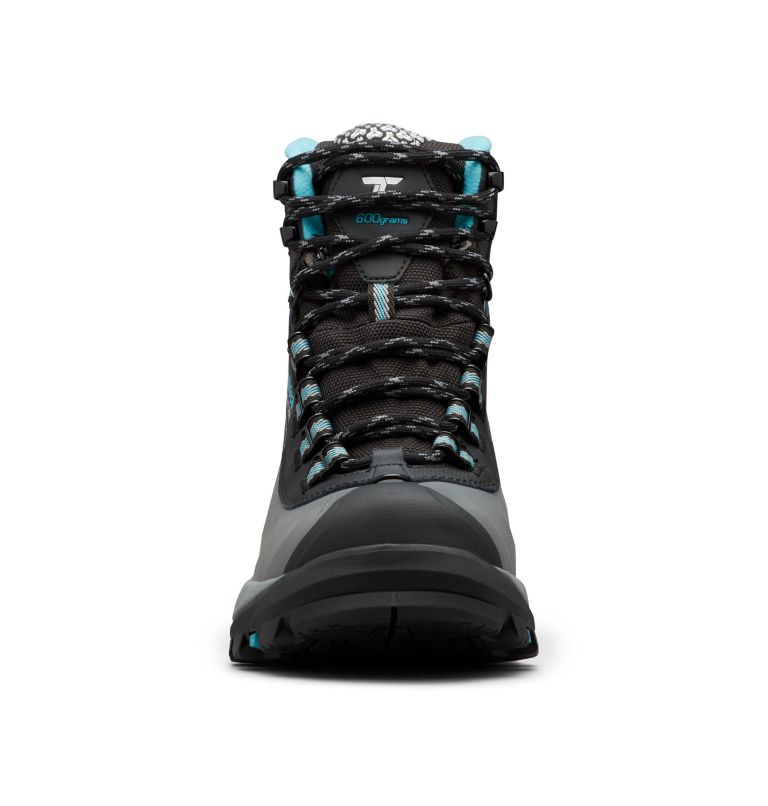 POWDERHOUSE™ TITANIUM OMNI-HEAT™ 3D OUTD | 010 | 5 Women's Powderhouse Titanium Omni-Heat™ 3D OutDry™ Boot, Black, Pacific Rim, toe