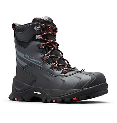 Women's Bugaboot™ Plus IV Omni-Heat™ Boot BUGABOOT™ PLUS IV OMNI-HEAT™ | 010 | 10, Black, Sunset Red, 3/4 front