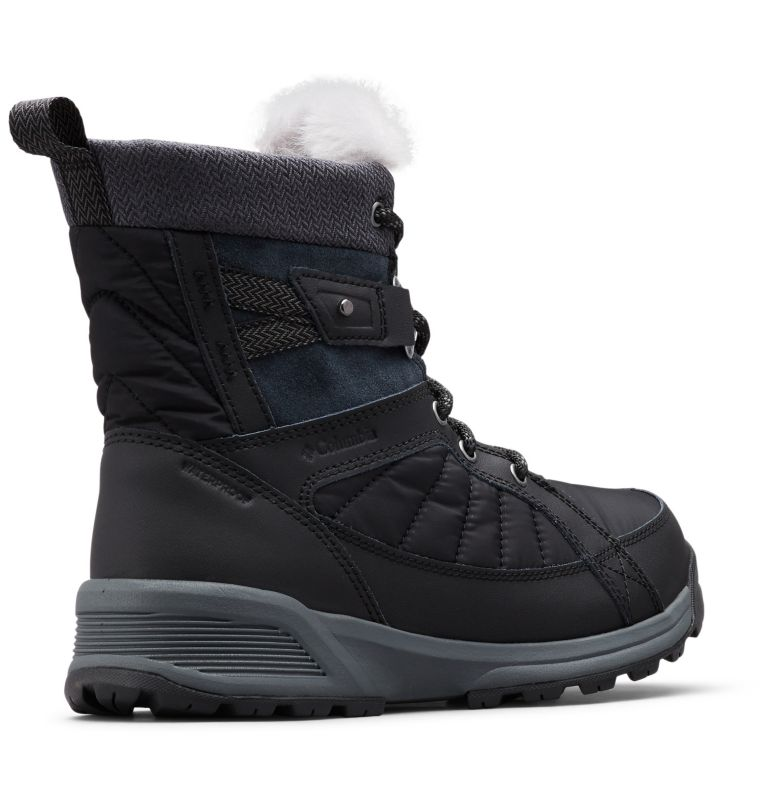 MEADOWS™ SHORTY OMNI-HEAT™ 3D | 010 | 6.5 Scarponi da neve Meadows™ Omni-Heat™ Mid-Cut da donna, Black, Steam, 3/4 back