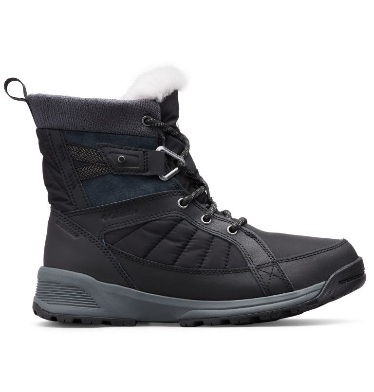 MEADOWS™ SHORTY OMNI-HEAT™ 3D | 010 | 6.5 Scarponi da neve Meadows™ Omni-Heat™ Mid-Cut da donna, Black, Steam, front